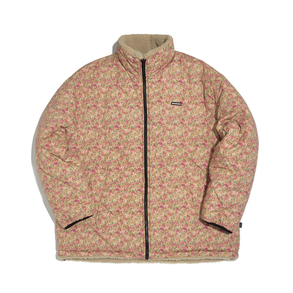 [AFTER 26.Oct SHIPPING] FLORAL REVERSIBLE JACKET (BEIGE)
