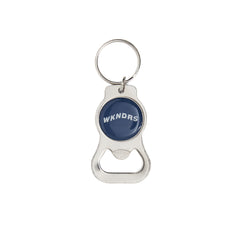 WAVY BOTTLE OPENER KEYRING (NAVY)