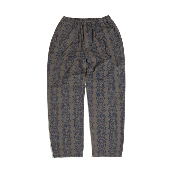 SMILE PATTERN PANTS (GREY)