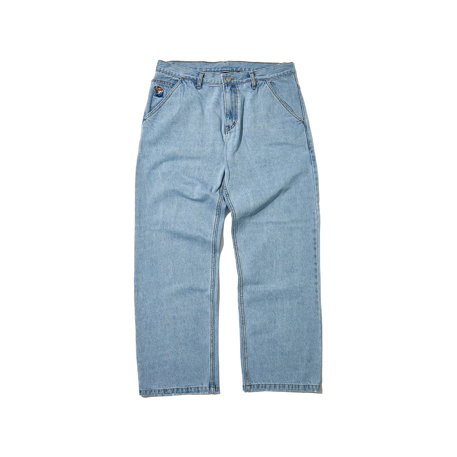 5-POCKET DENIM PANTS (DENIM)