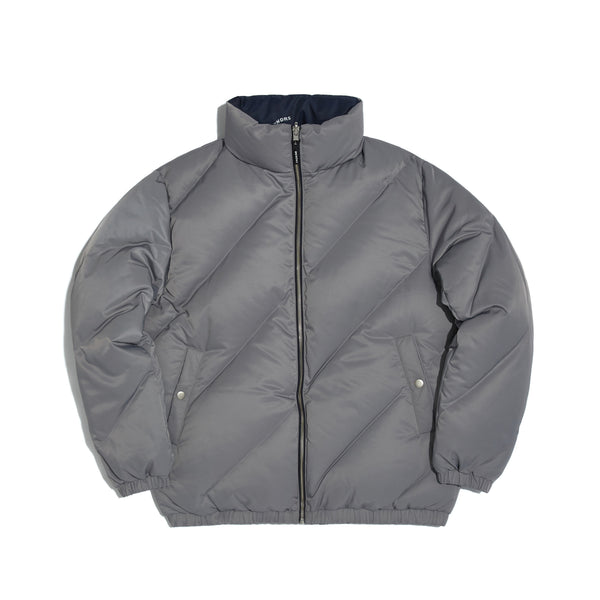 [AFTER 26.Oct SHIPPING] WAVY REVERSIBLE DOWN JACKET (GREY)