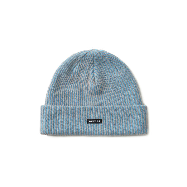 STRIPED BEANIE (S.BLUE)