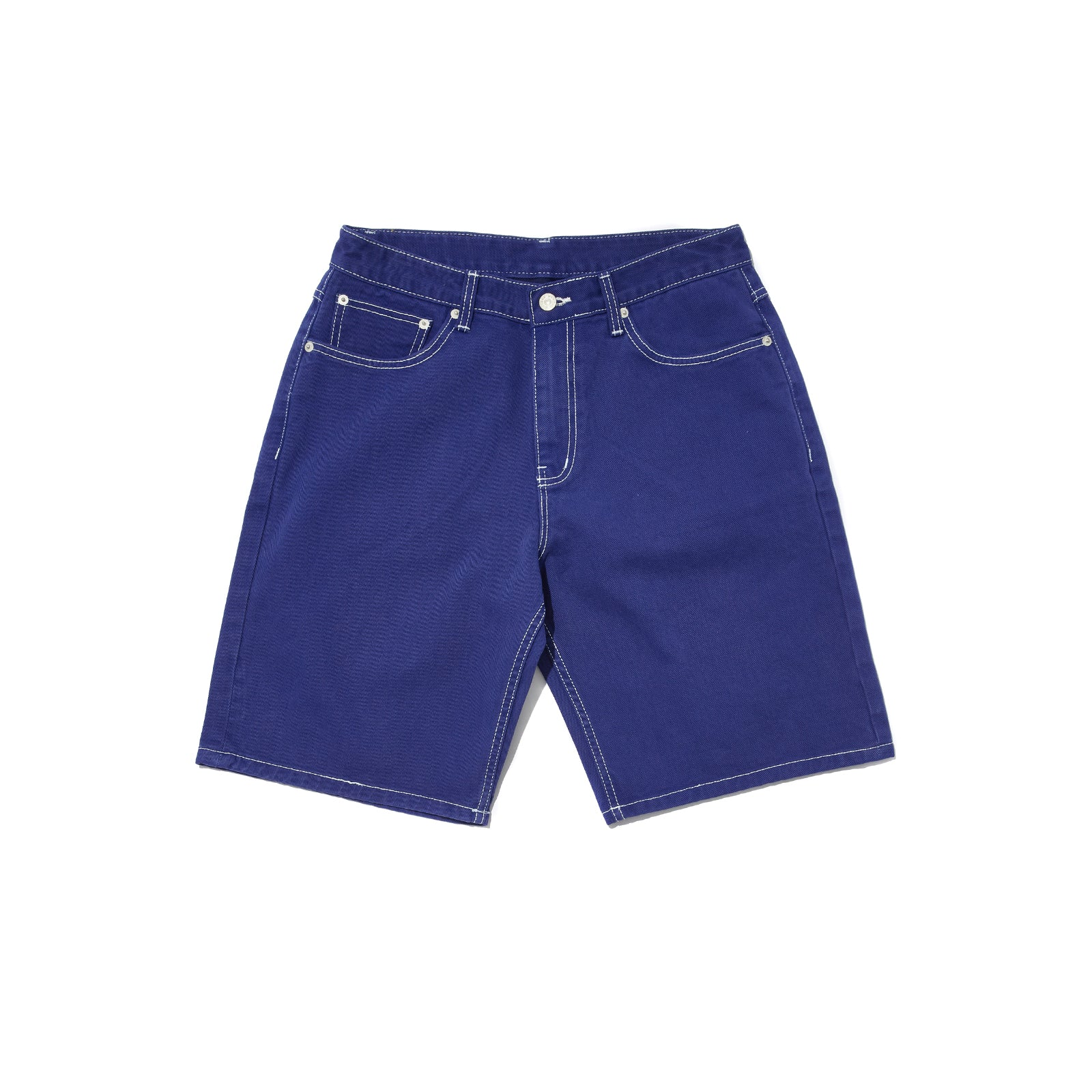 BASIC 5-POCKET SHORTS (BLUE)
