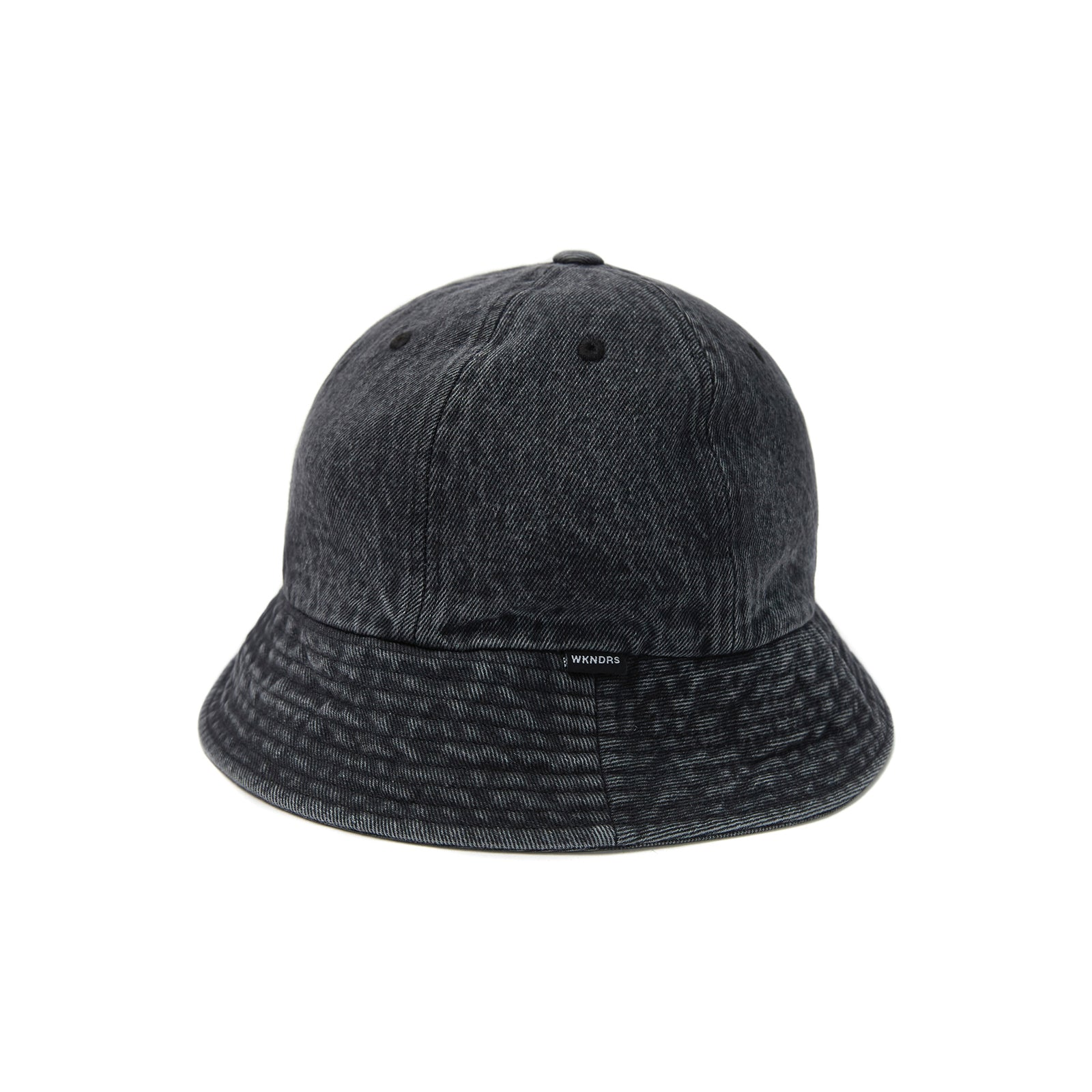 DENIM BUCKET HAT (BLACK)