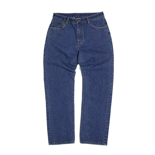 BASIC DENIM PANTS (D.DENIM)