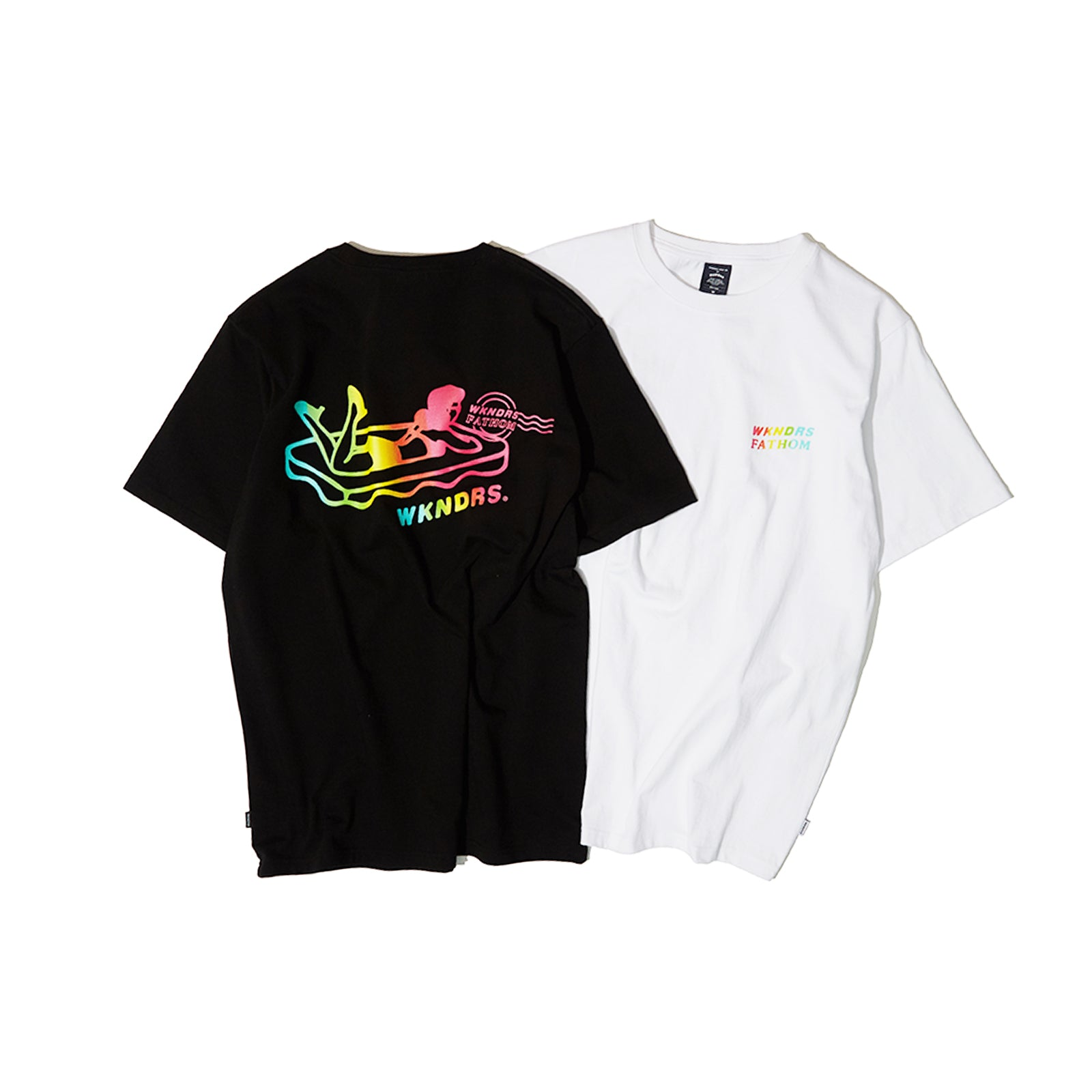 FG GRADATION TEE (WHITE)