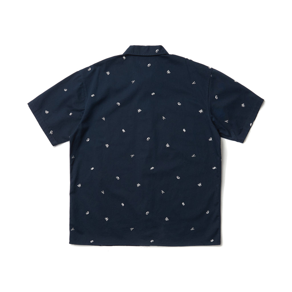 CURRENCY WORK SHIRT (NAVY)