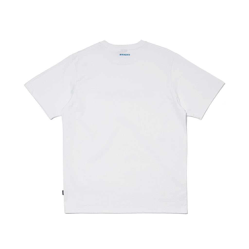 BASIC LOGO SS T-SHIRT (BLUE)