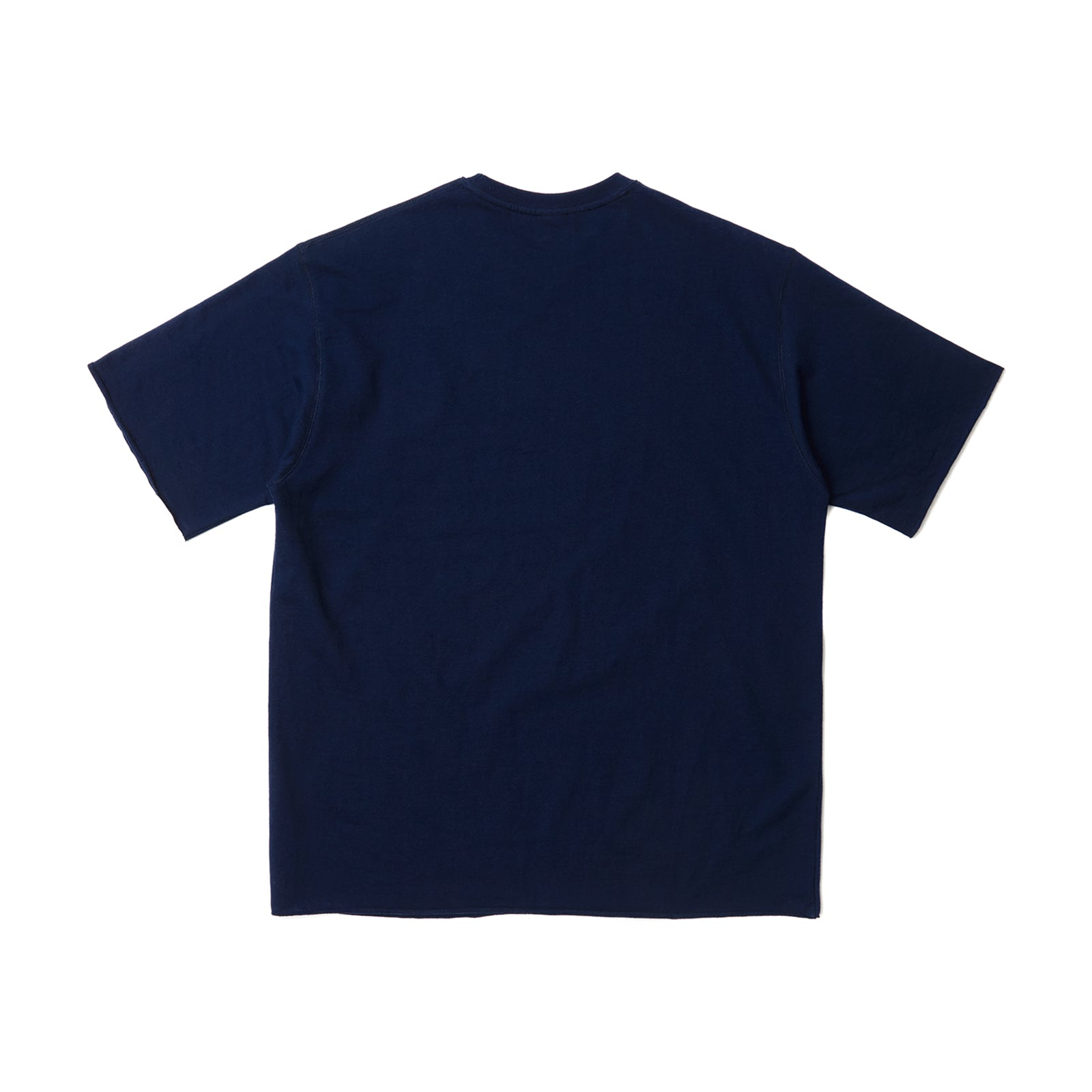 WS RAW EDGE SS T-SHIRT (NAVY)