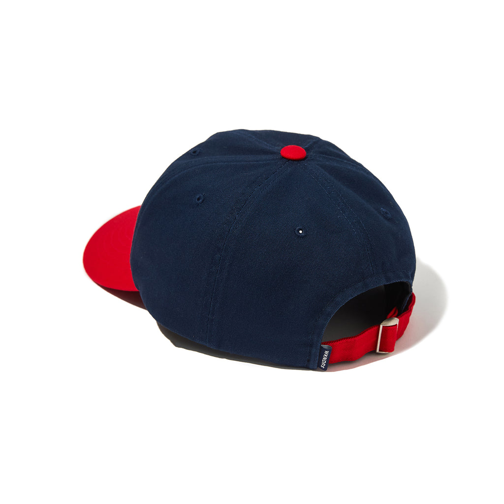 W LOGO COLOR CAP (NAVY)