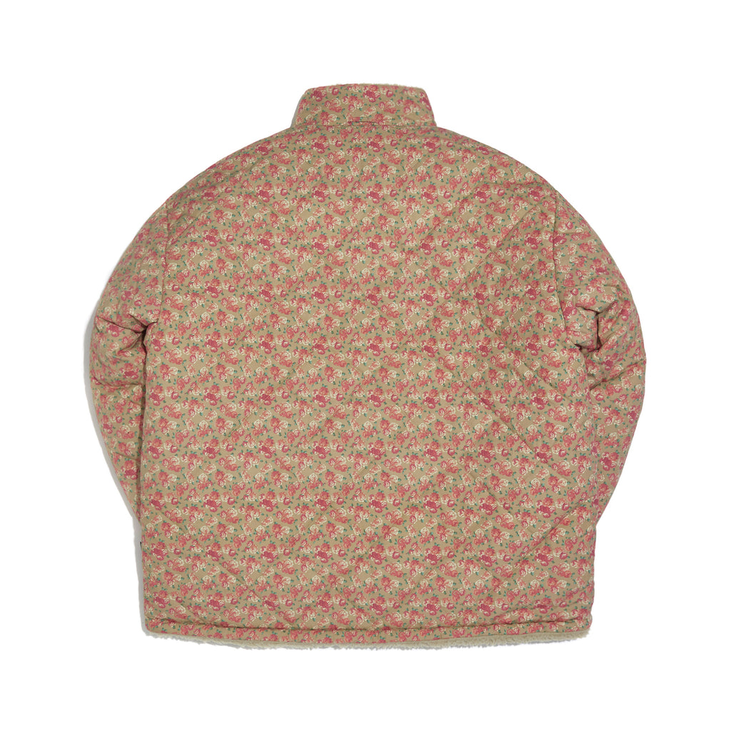 FLORAL REVERSIBLE JACKET (BEIGE)