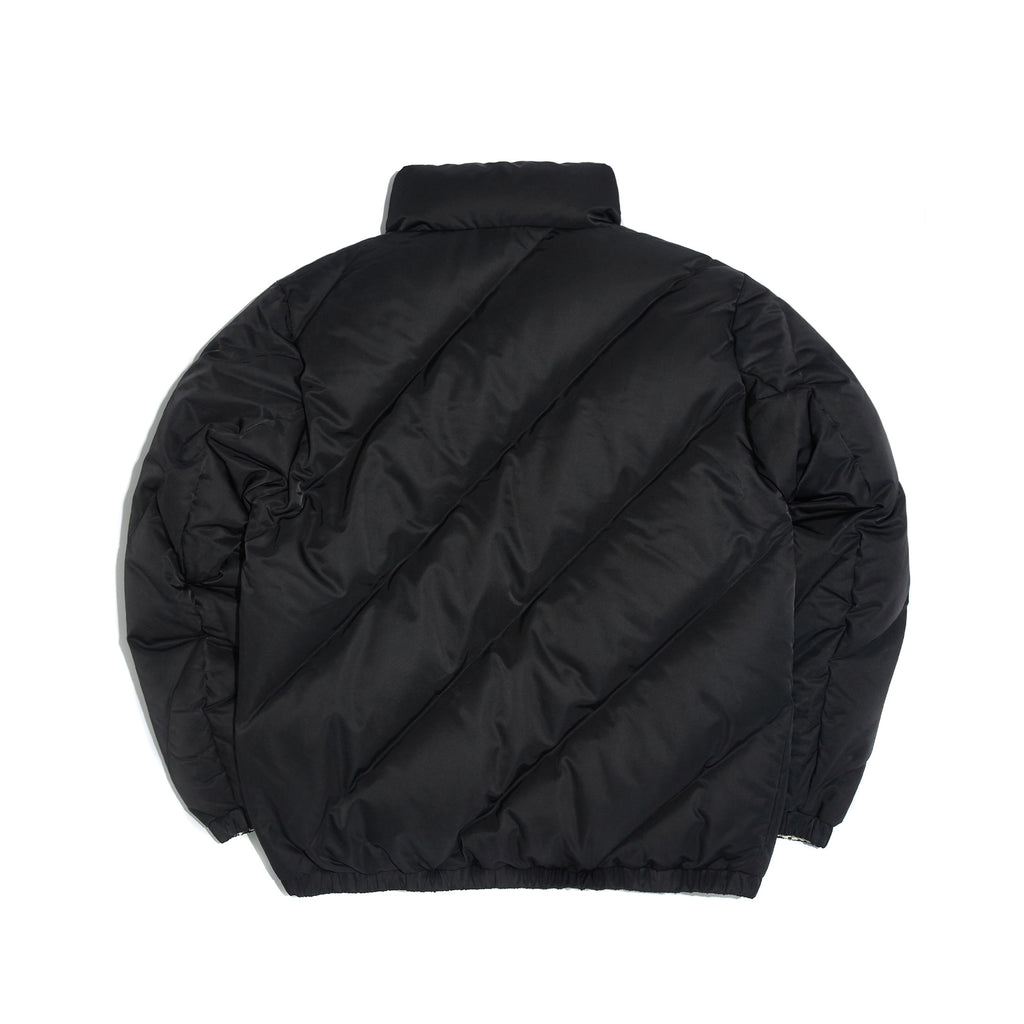 [AFTER 26.Oct SHIPPING] WAVY REVERSIBLE DOWN JACKET (BLACK)