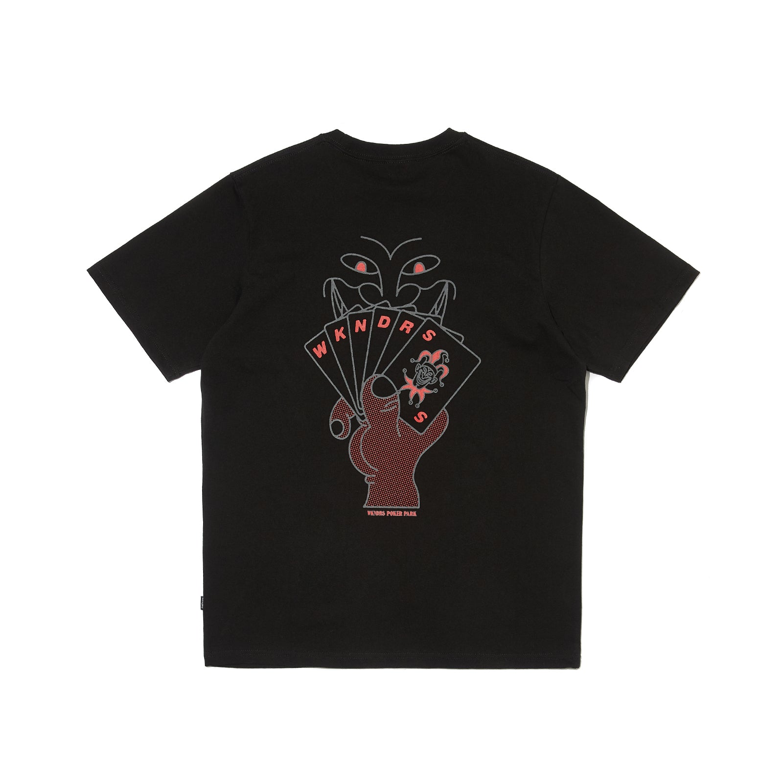 POKER SS T-SHIRT (BLACK)