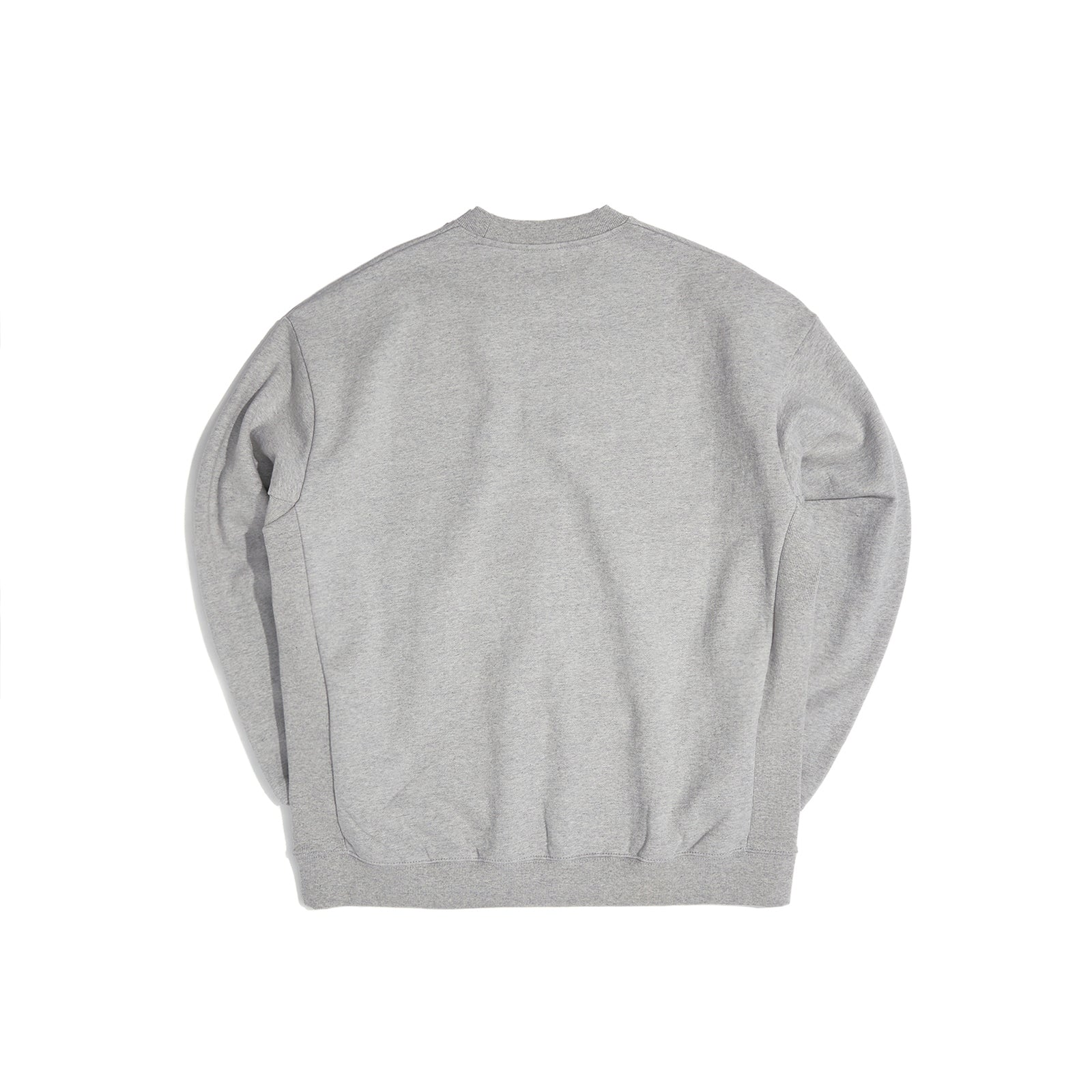 W LOGO SWEATSHIRT (GREY)