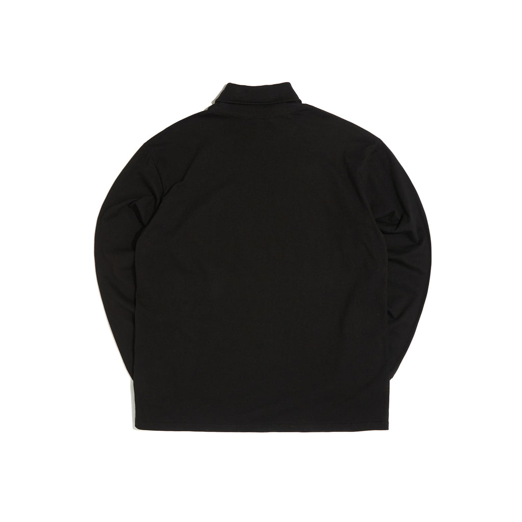 LONG SLEEVE TURTLE NECK (BLACK) [AFTER 28.Sept SHIPPING]