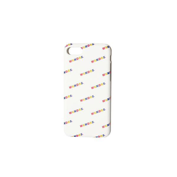 WAVY iPHONE CASE (WHITE)