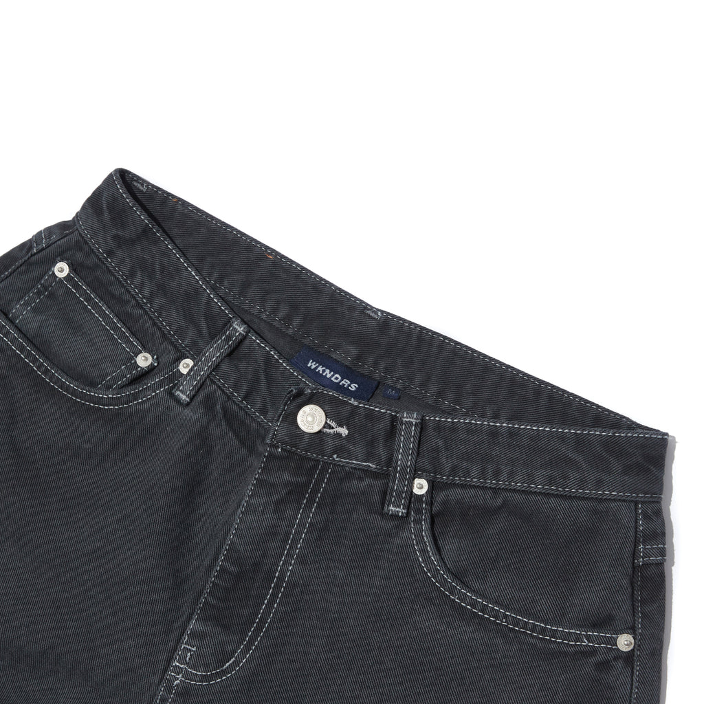 BASIC 5-POCKET SHORTS (BLACK)