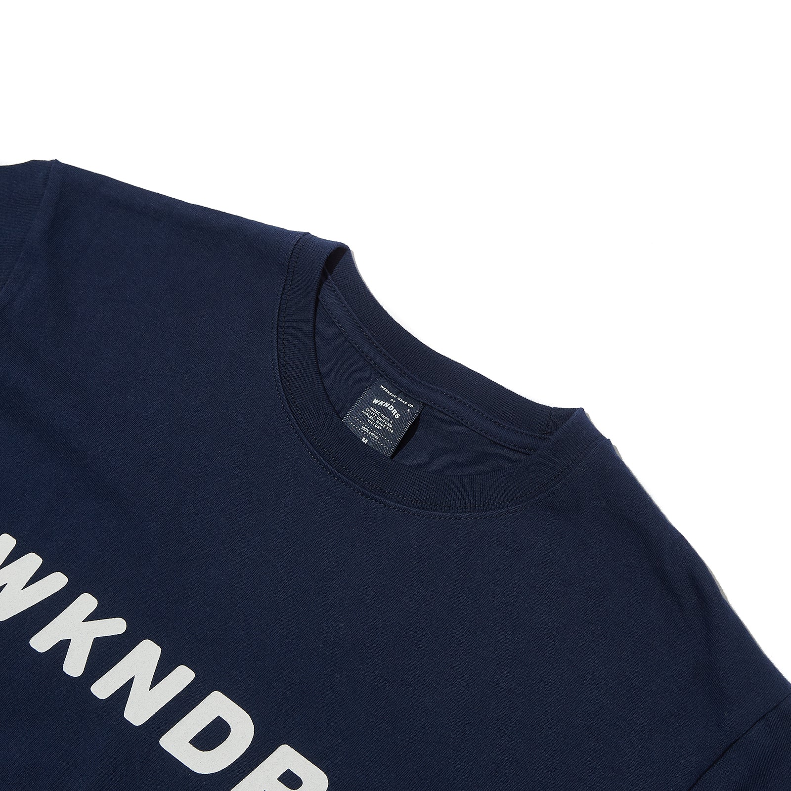 BASIC LOGO SS T-SHIRT (NAVY)
