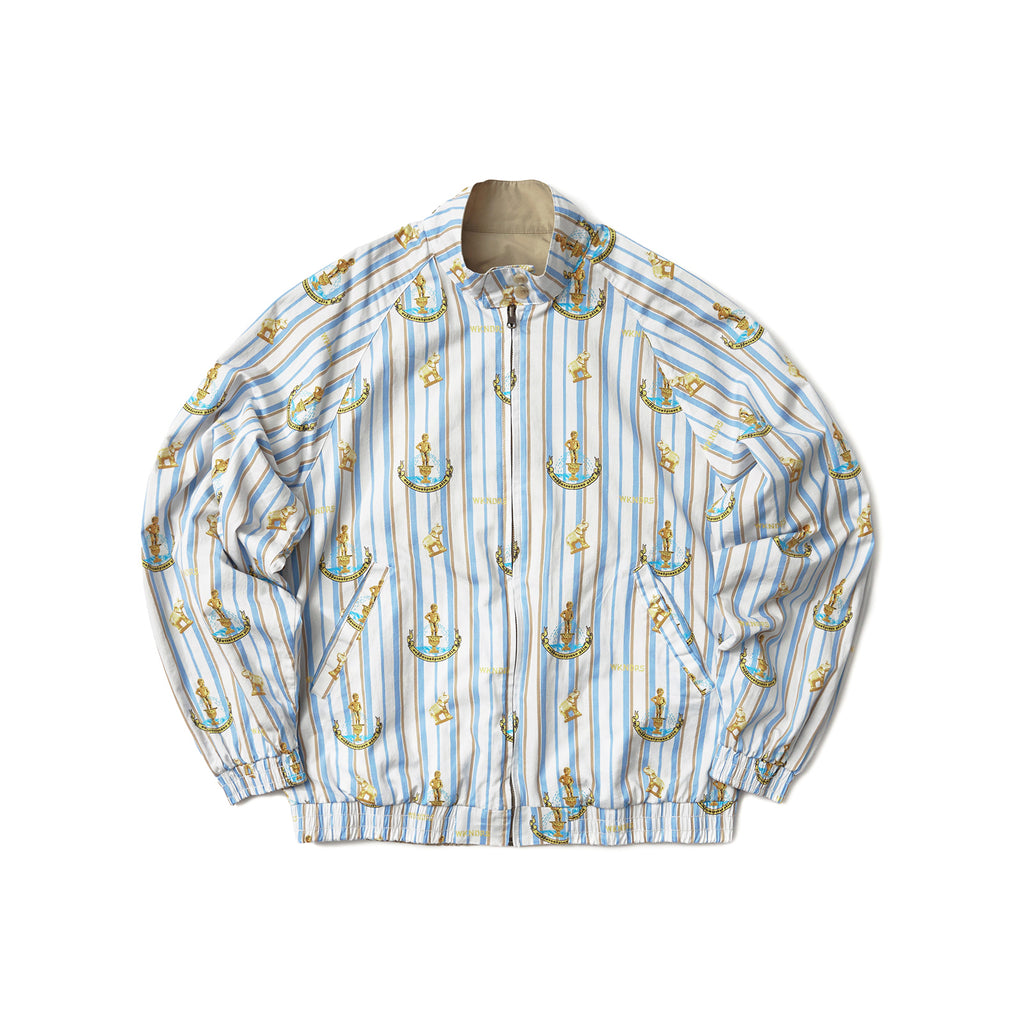 REVERSIBLE GARDEN JACKET (BEIGE)