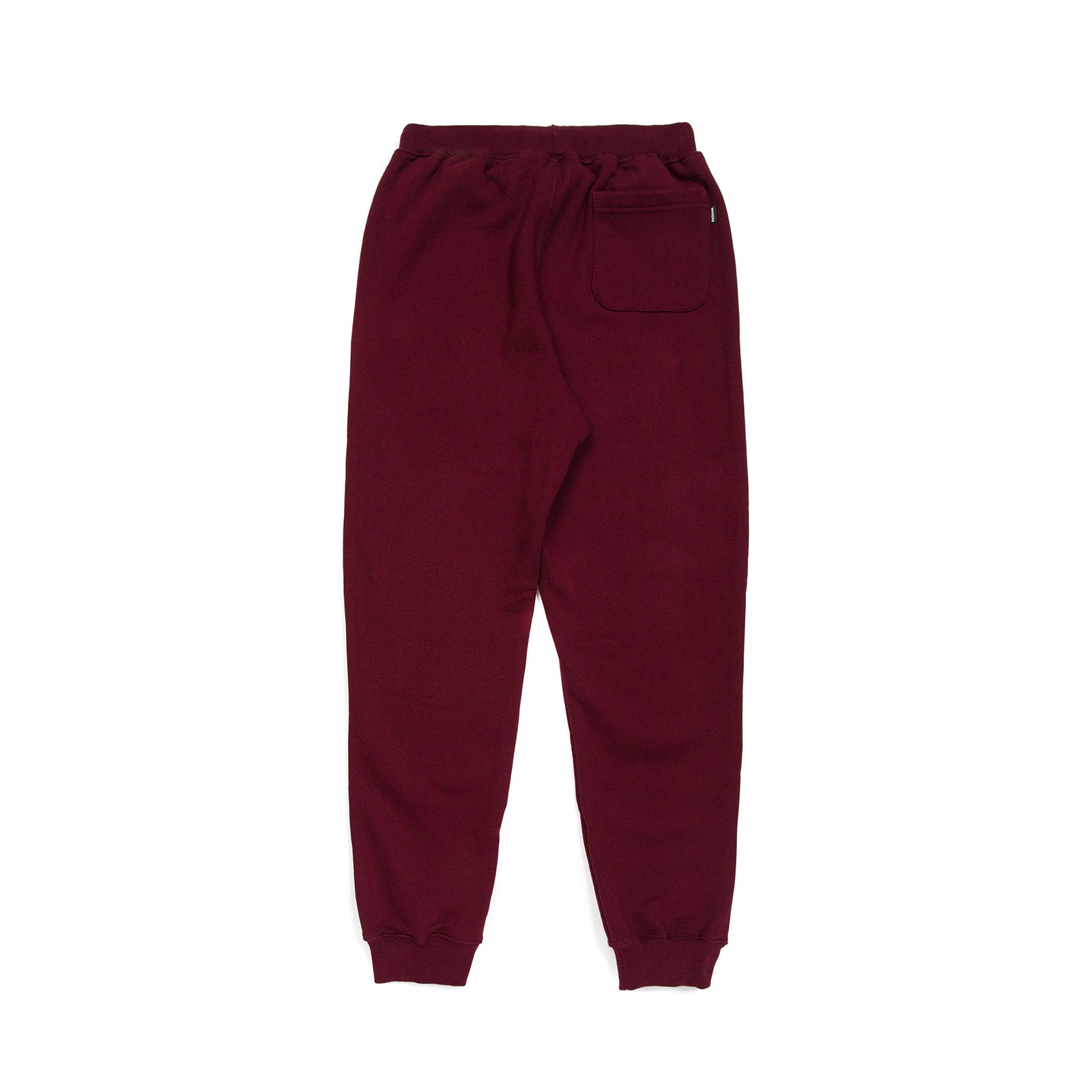 W SWEAT PANTS (BURGUNDY)