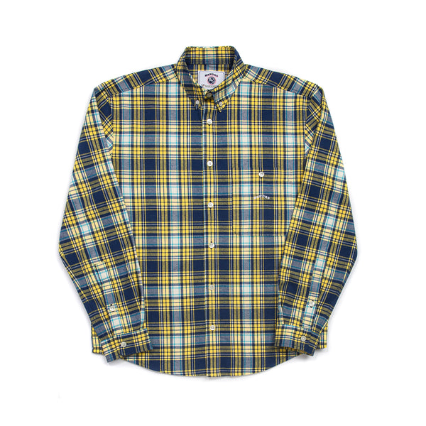 PLAID SHIRT (YELLOW)