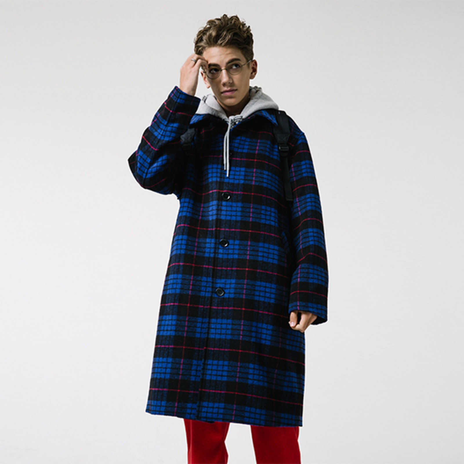 CITY WALKS COAT (BLUE)
