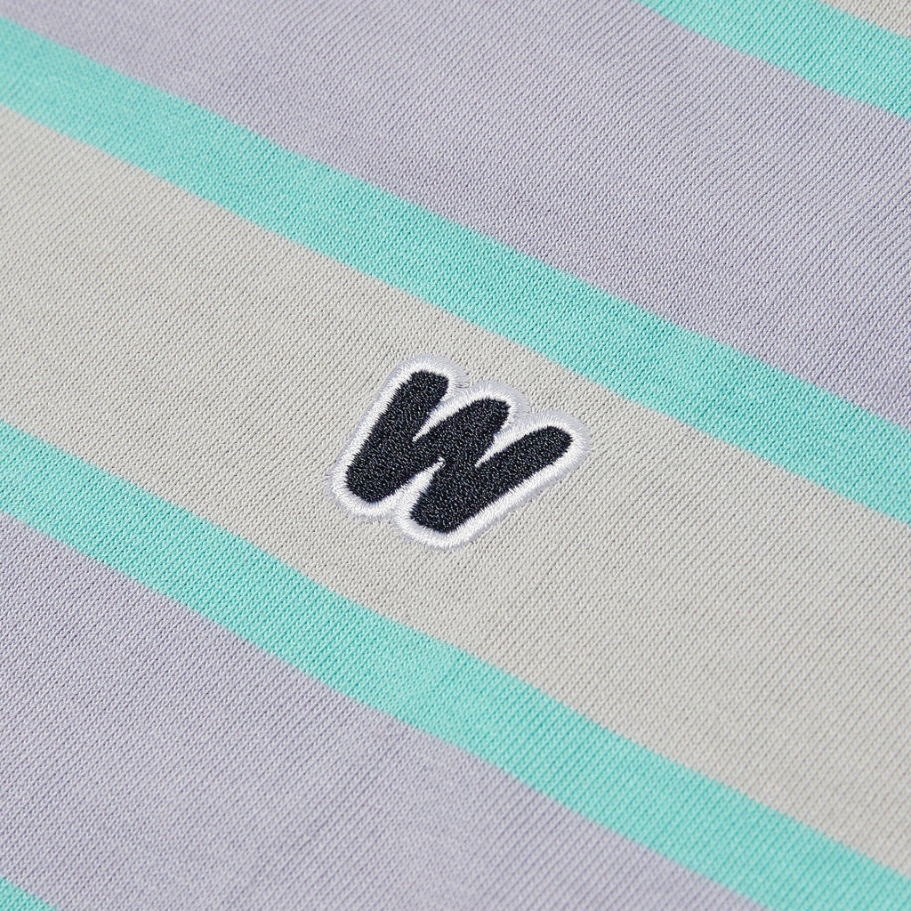STRIPED W SS T-SHIRT (MINT)