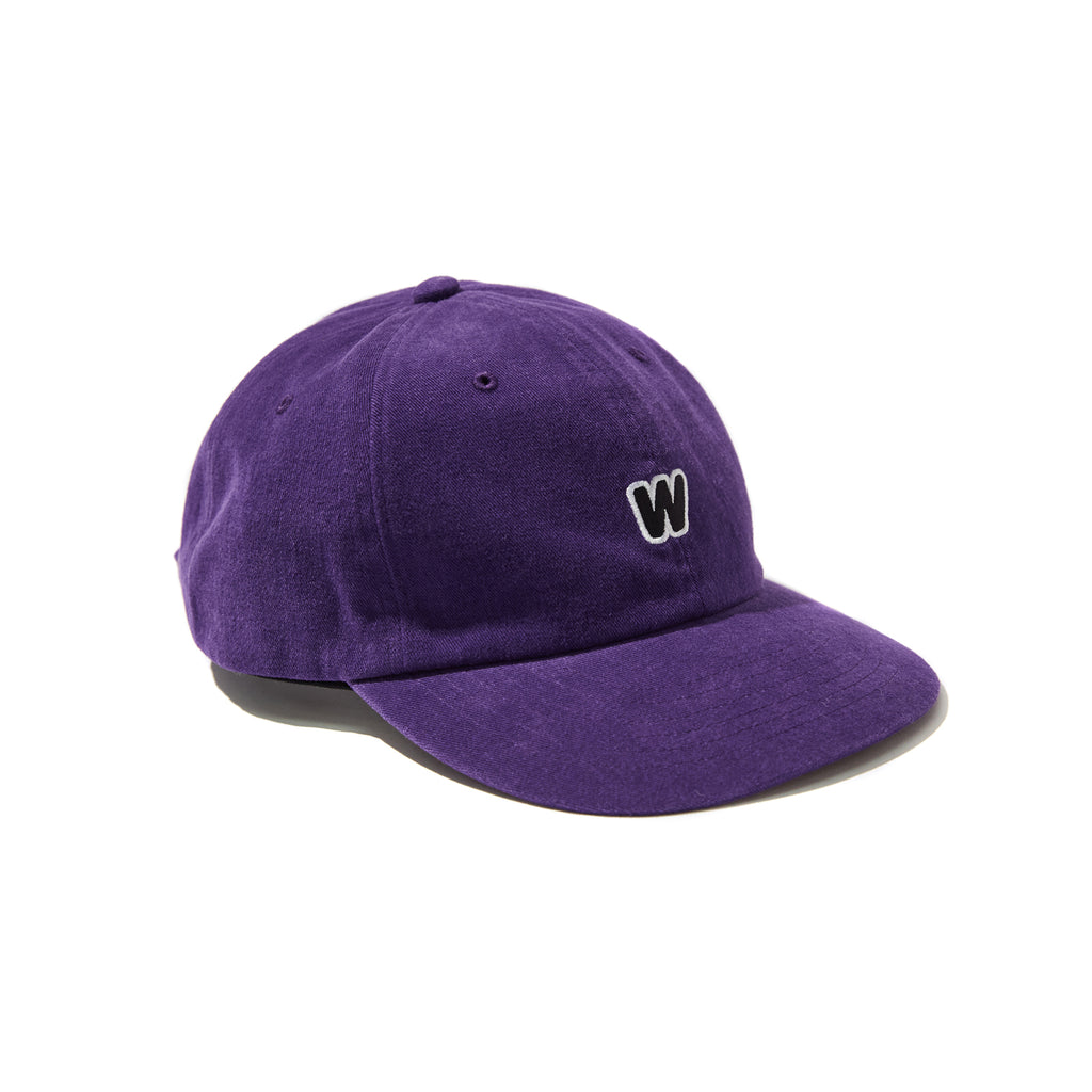[OUT FOR DELIVERY-8.28] W LOGO CAP (PURPLE)