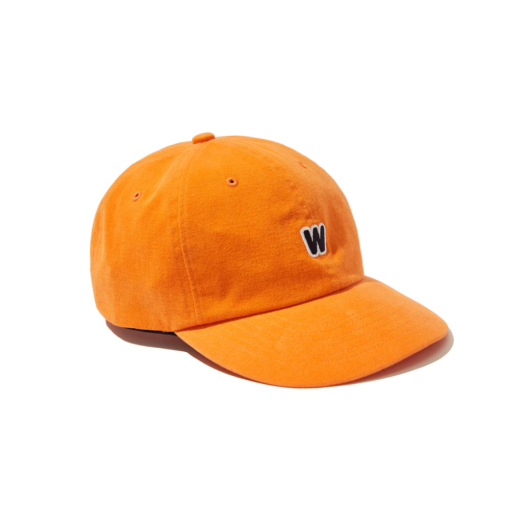 [OUT FOR DELIVERY-8.28] W LOGO CAP (ORANGE)