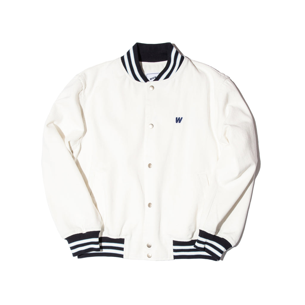 RETRO STADIUM JACKET (WHITE)
