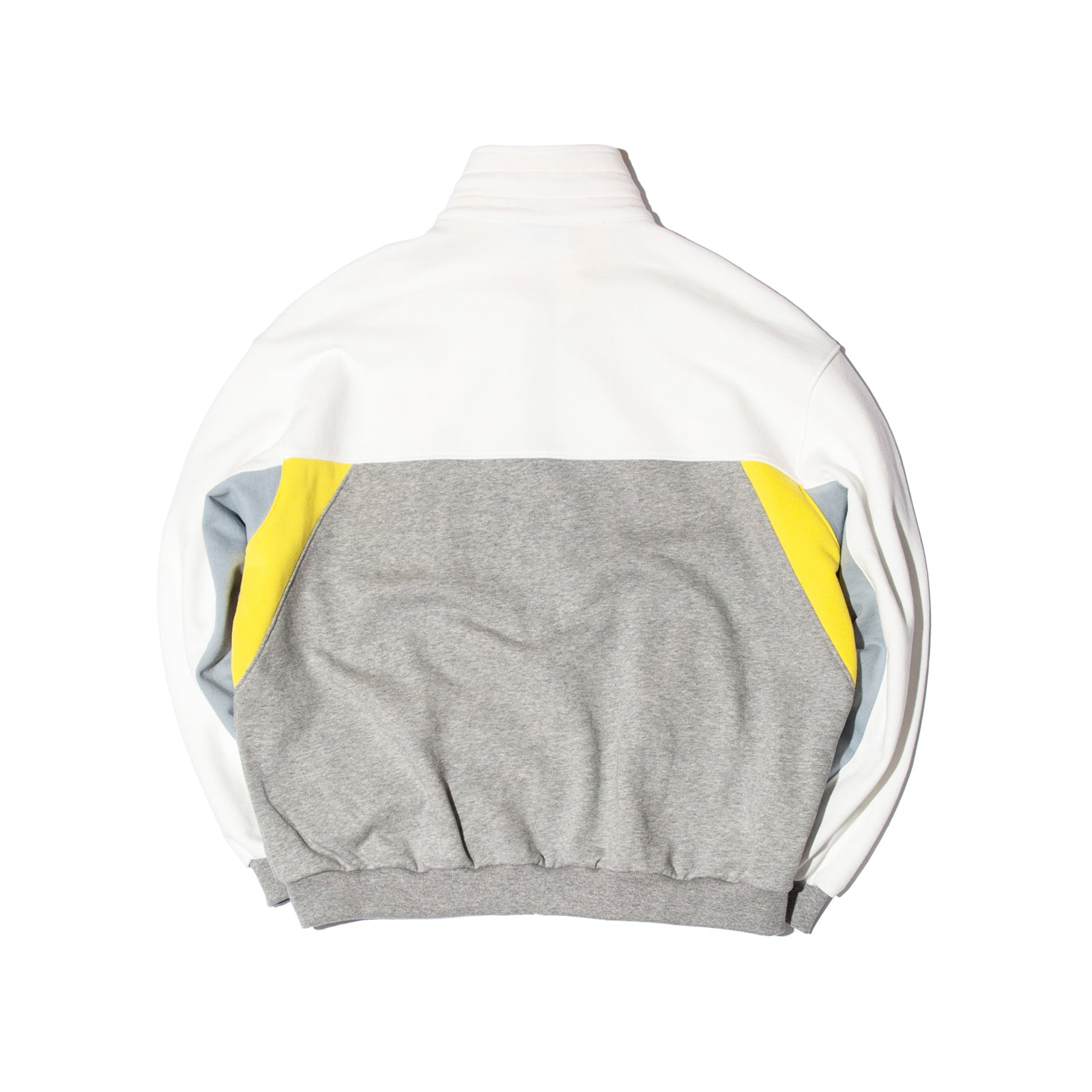 CUTTED TRACK JACKET (YELLOW)