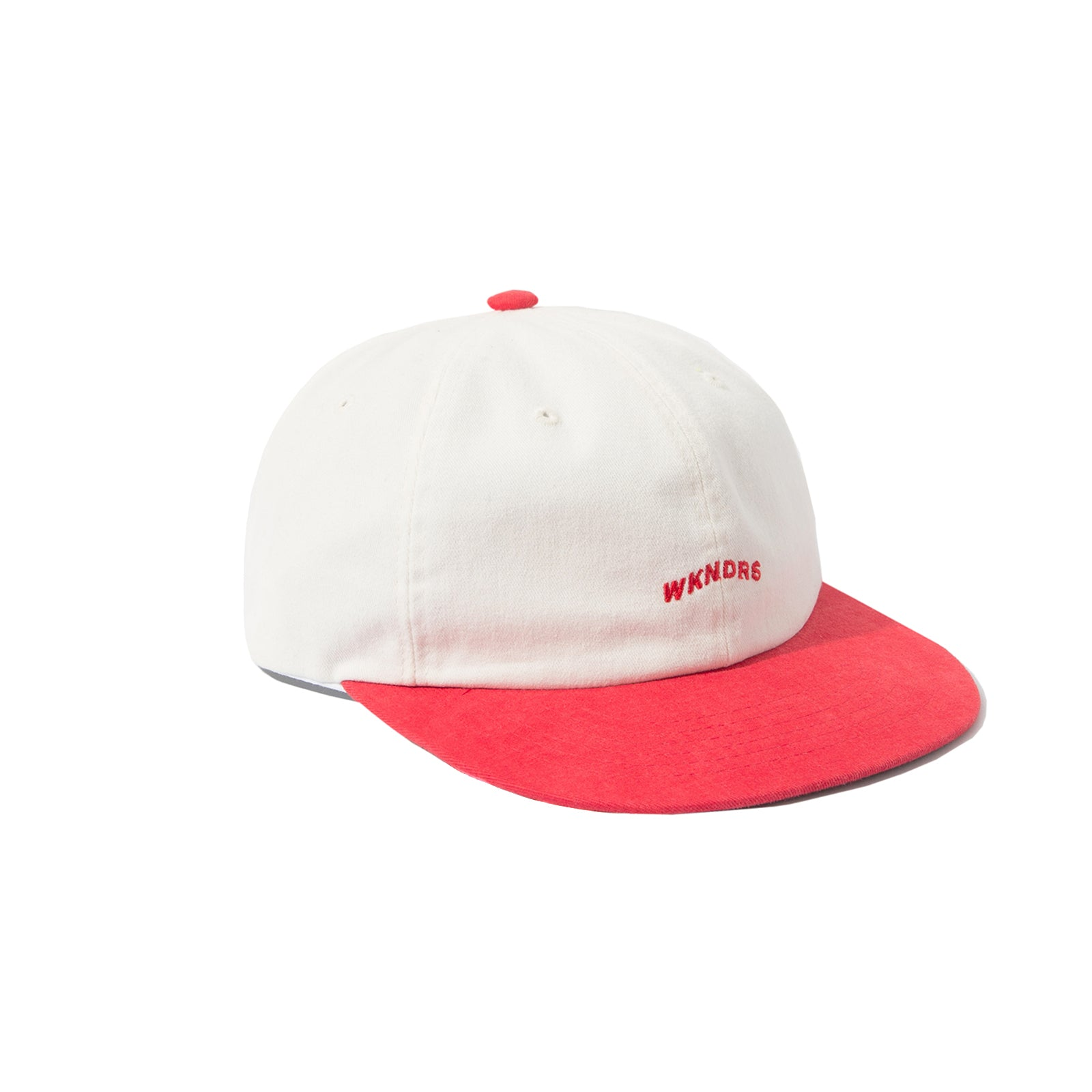 WAVY LOGO CAP (RED)