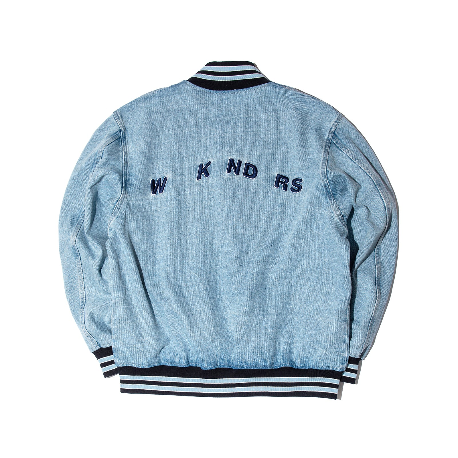 RETRO STADIUM JACKET (L.DENIM)