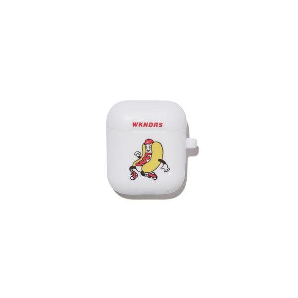 HOTDOG AIRPOD CASE (WHITE)