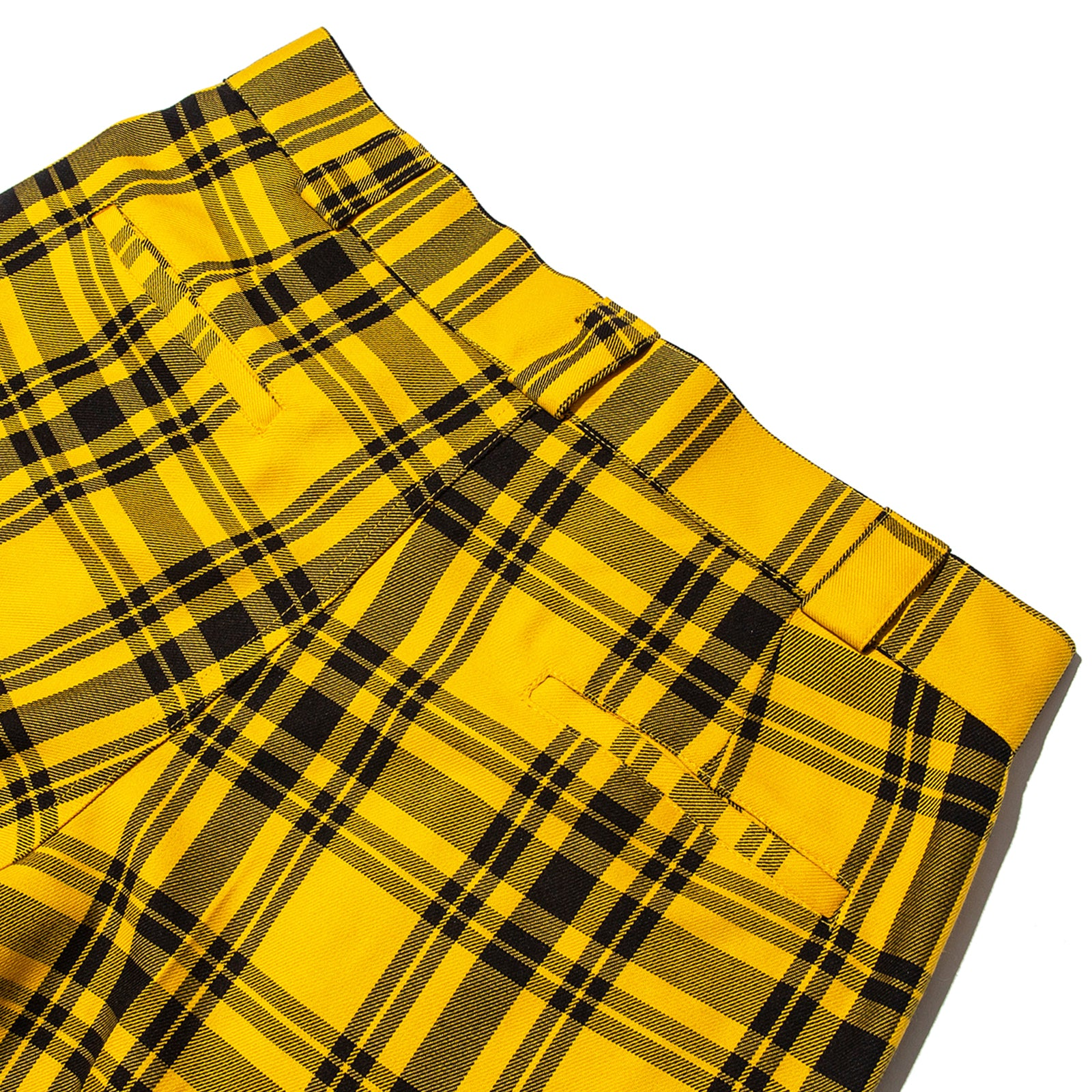 PLAID TROUSER (YELLOW)