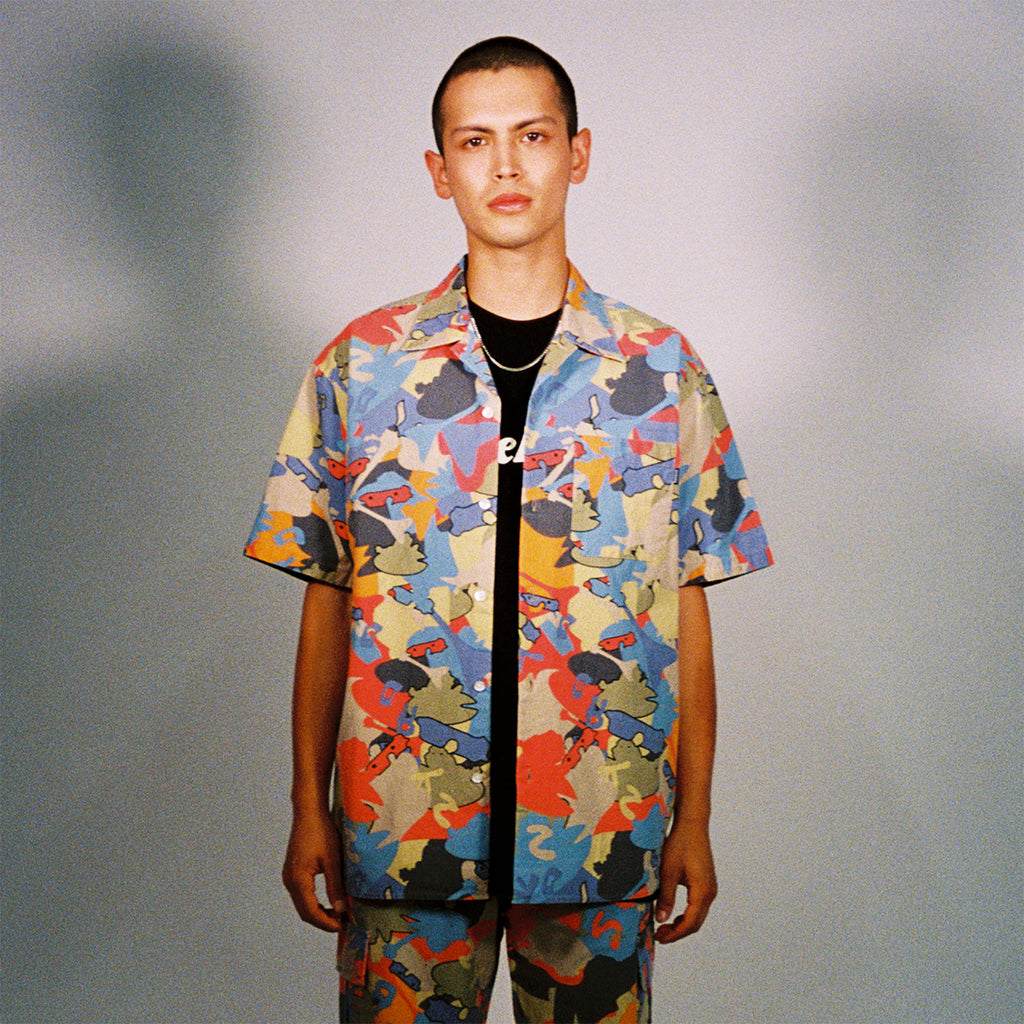 CAMOFROG SS SHIRT (ORANGE)