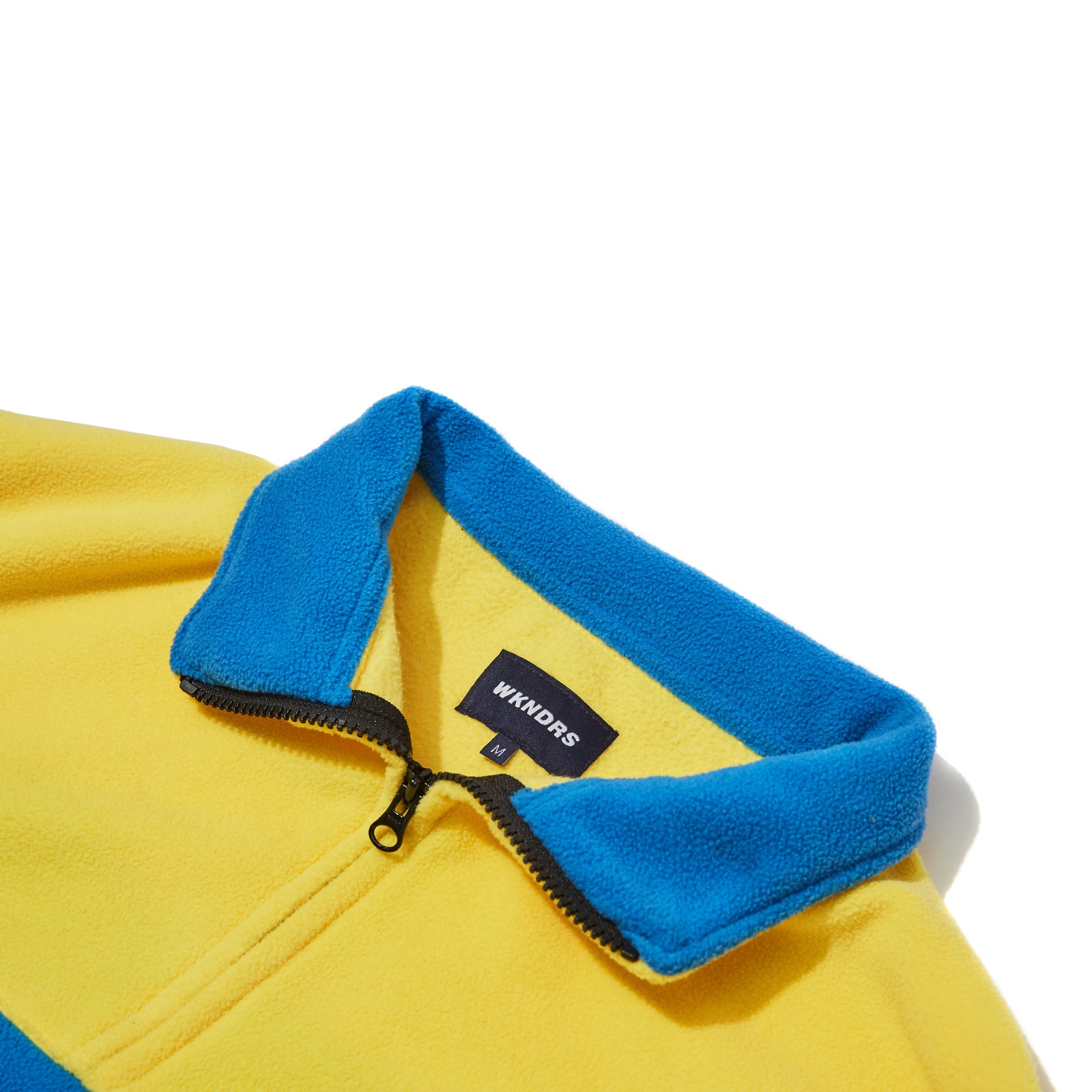 CUTTED FLEECE JUMPER (BLUE)