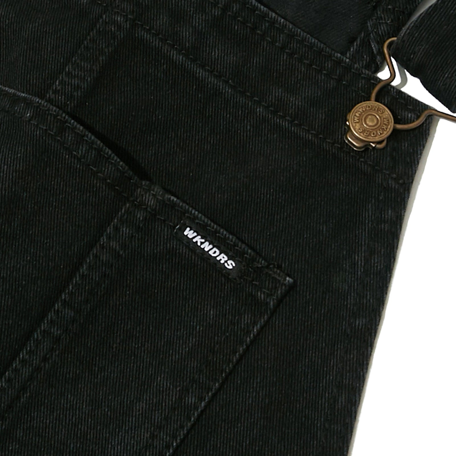 DENIM OVERALL (BLACK)
