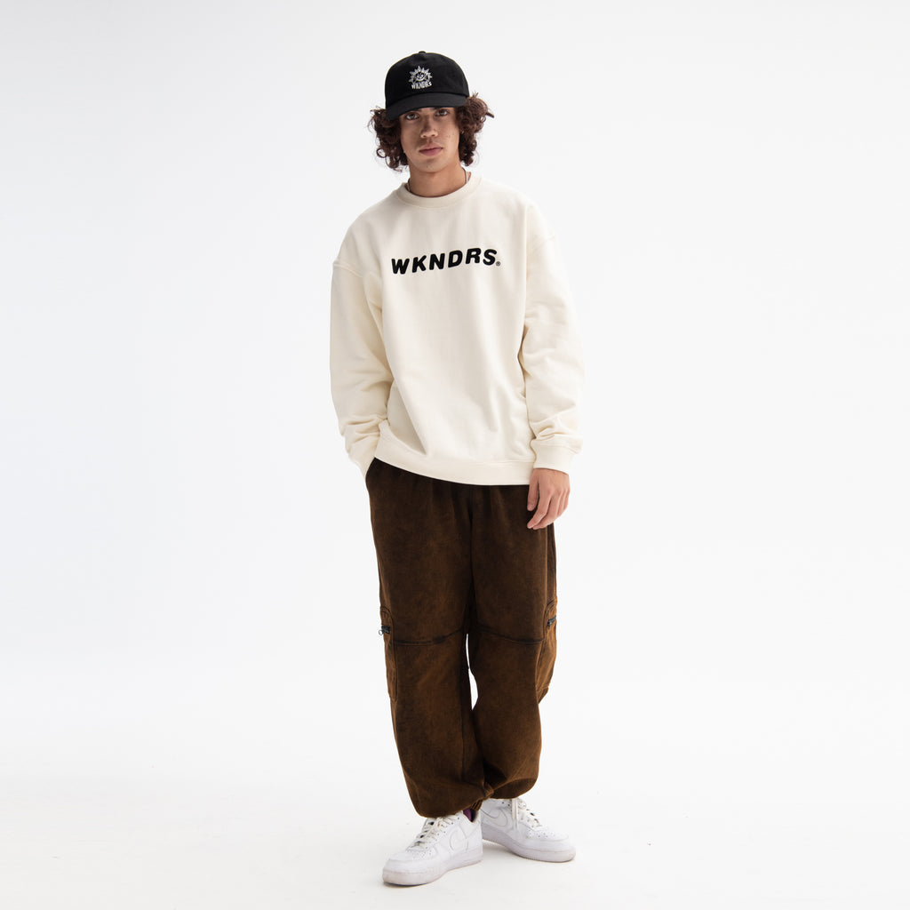 CARGO SWEAT PANTS (BLACK) [AFTER 28.Sept SHIPPING]