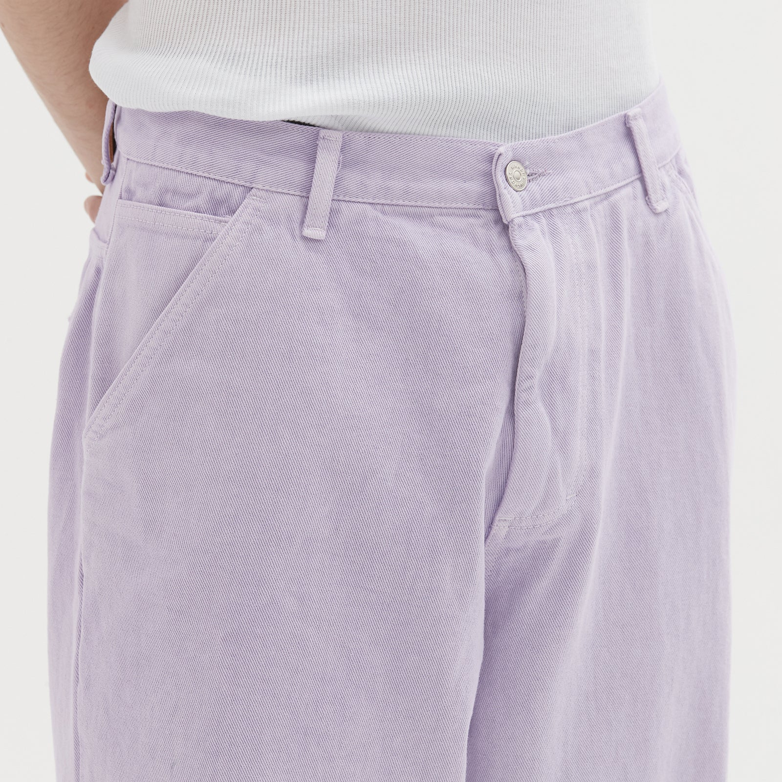 LOOSE FIT PANTS (L.PURPLE)