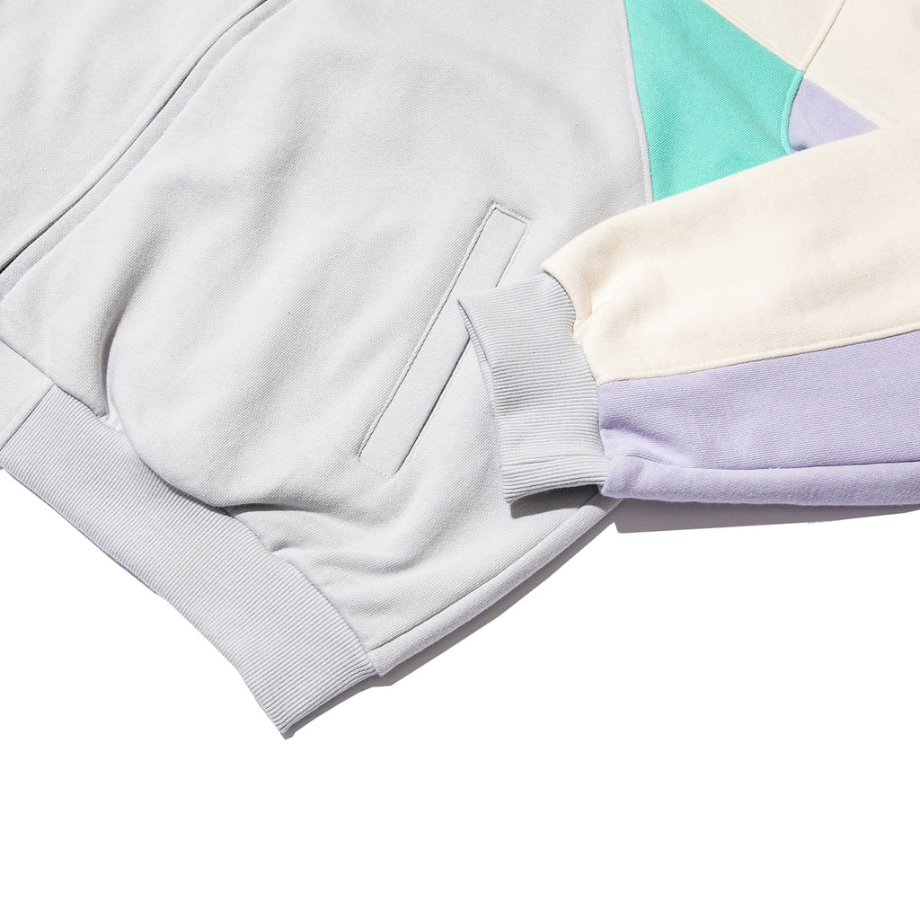 CUTTED TRACK JACKET (MINT)