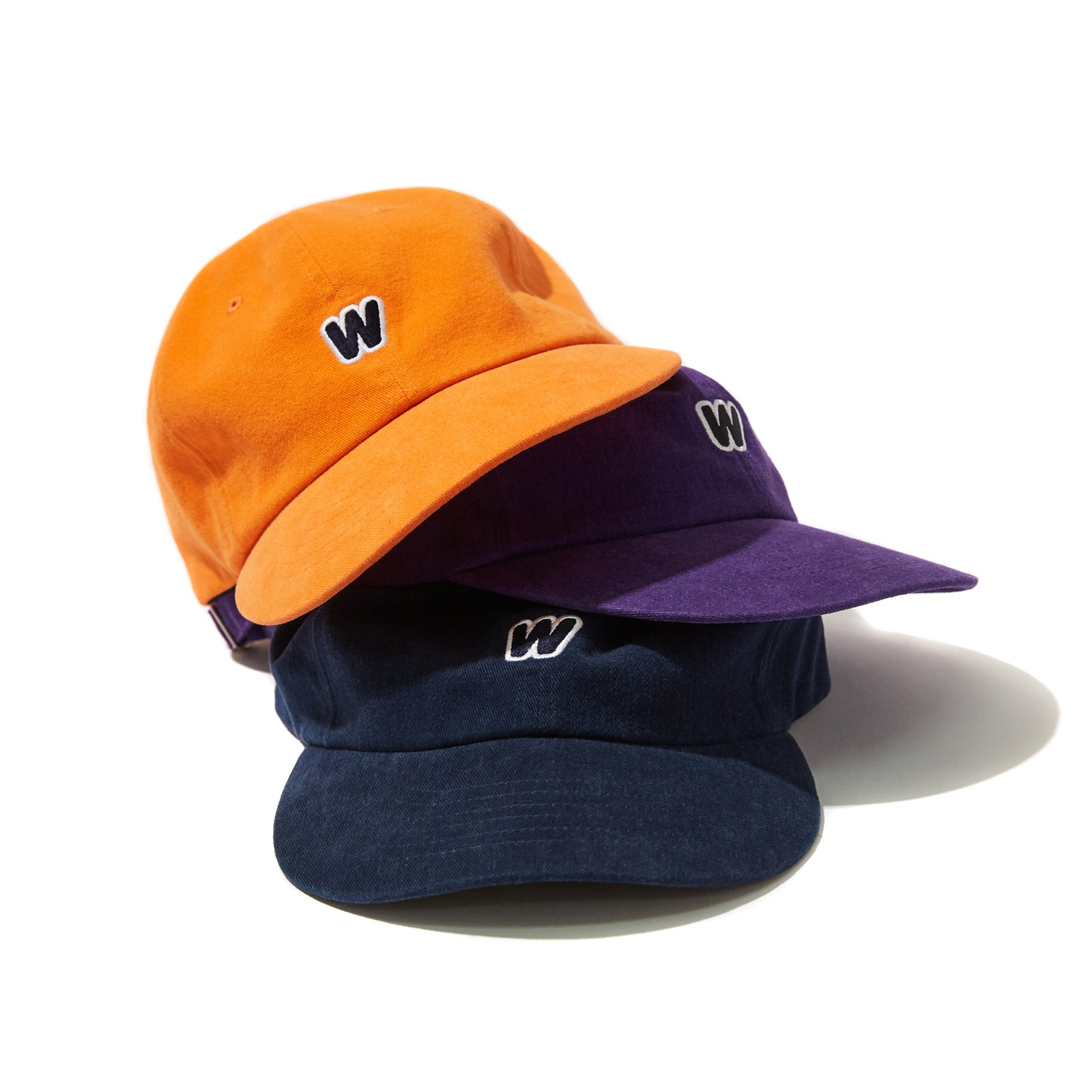 W LOGO CAP (ORANGE)