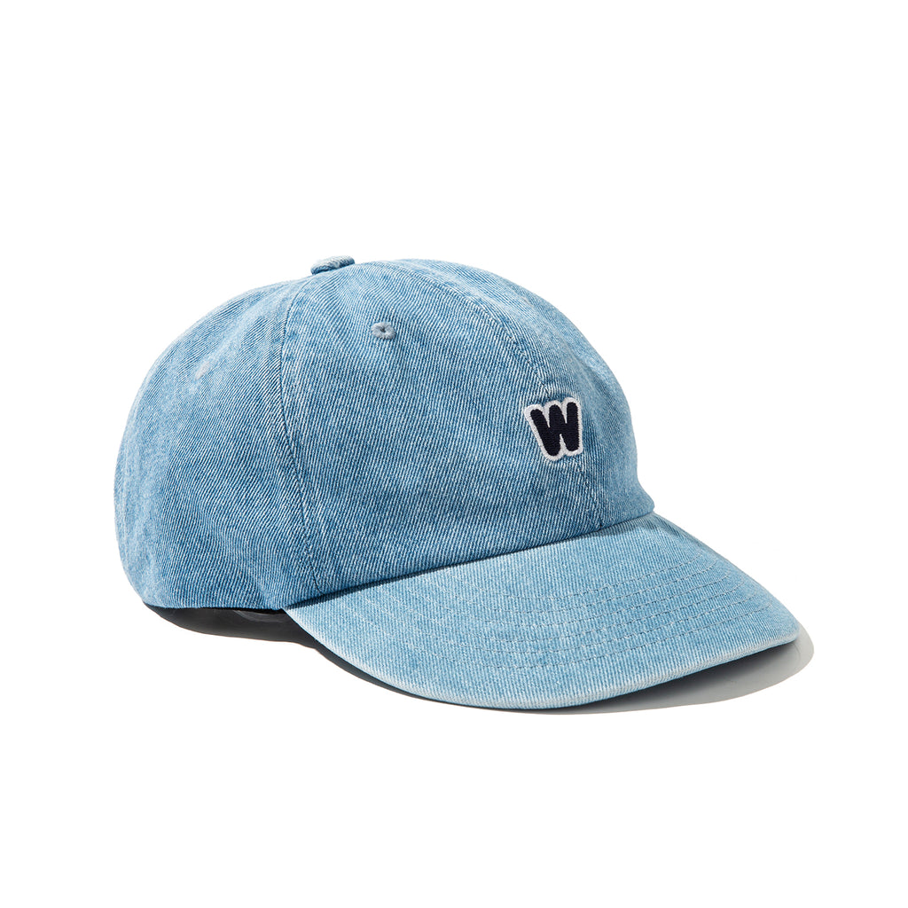 W LOGO CAP (L.DENIM)