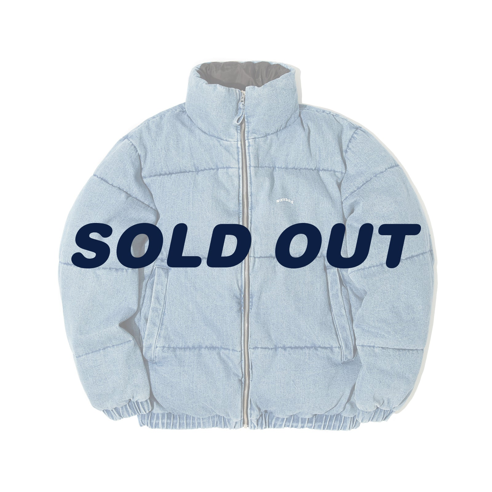 DENIM PADDED JACKET (DENIM)