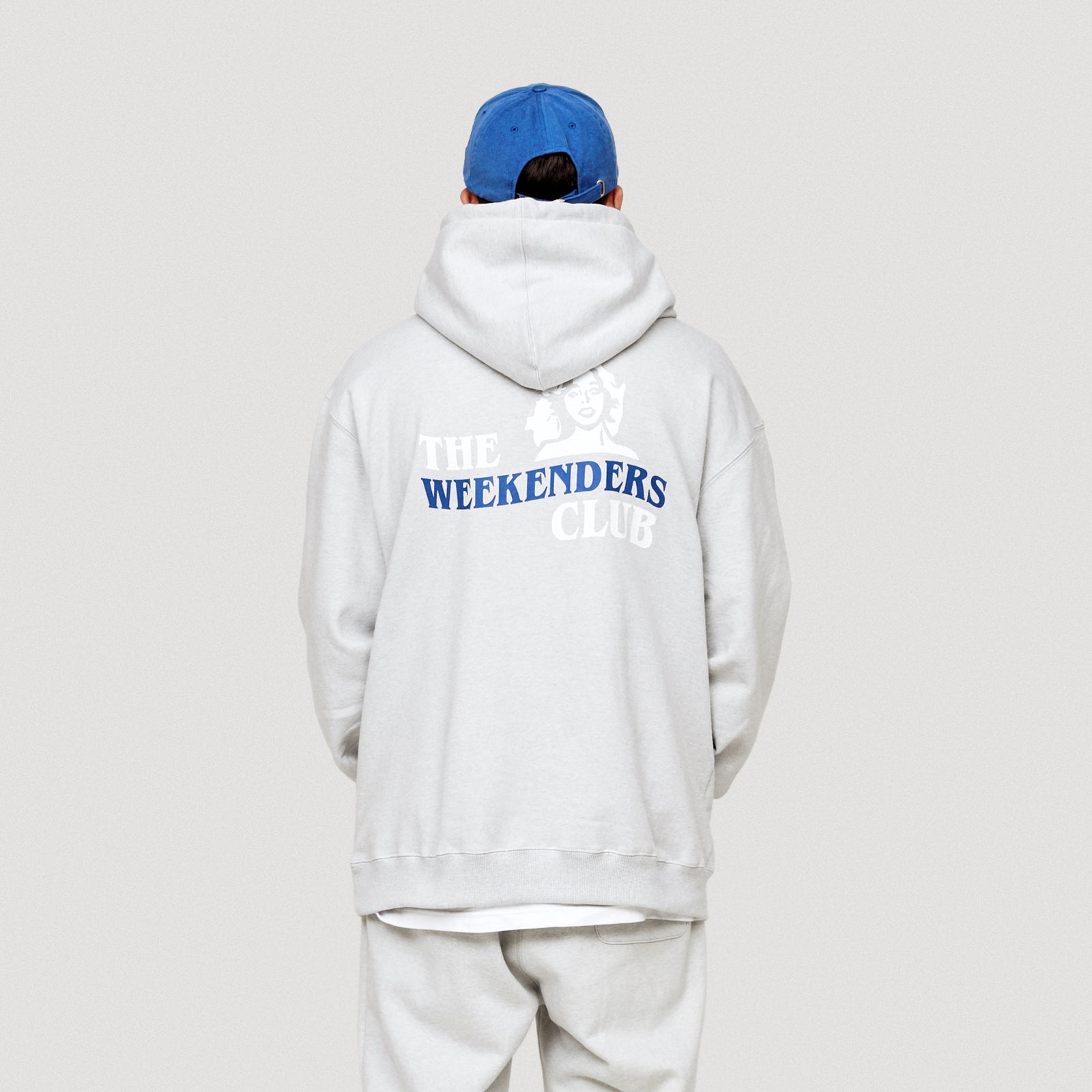 THE WEEKENDERS CLUB HOODIE (GREY)