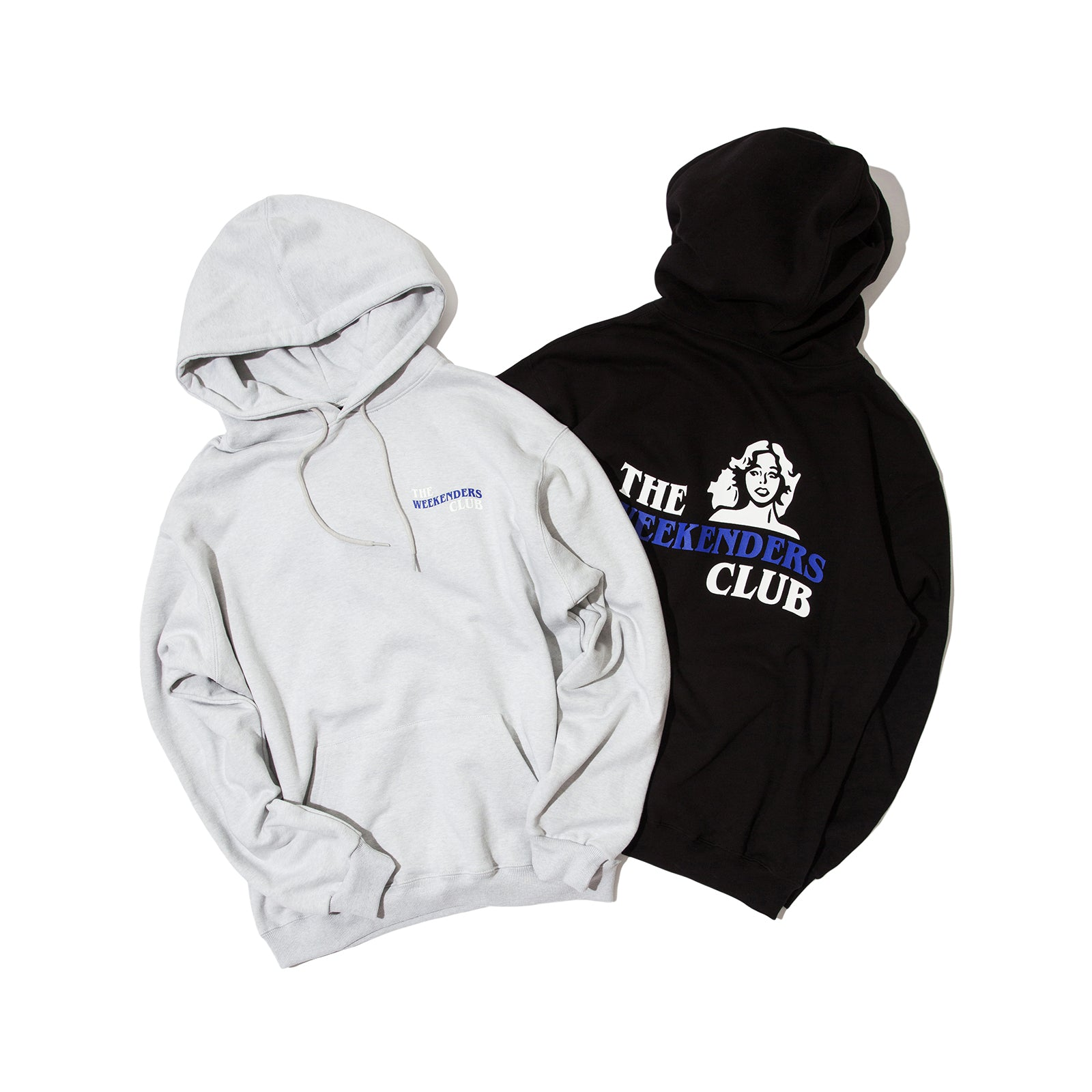 THE WEEKENDERS CLUB HOODIE (BLACK)