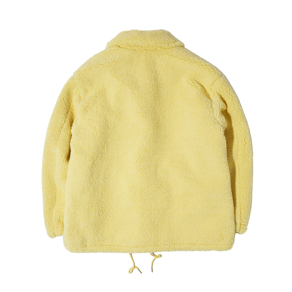 FUR COACH JACKET (CREAM)