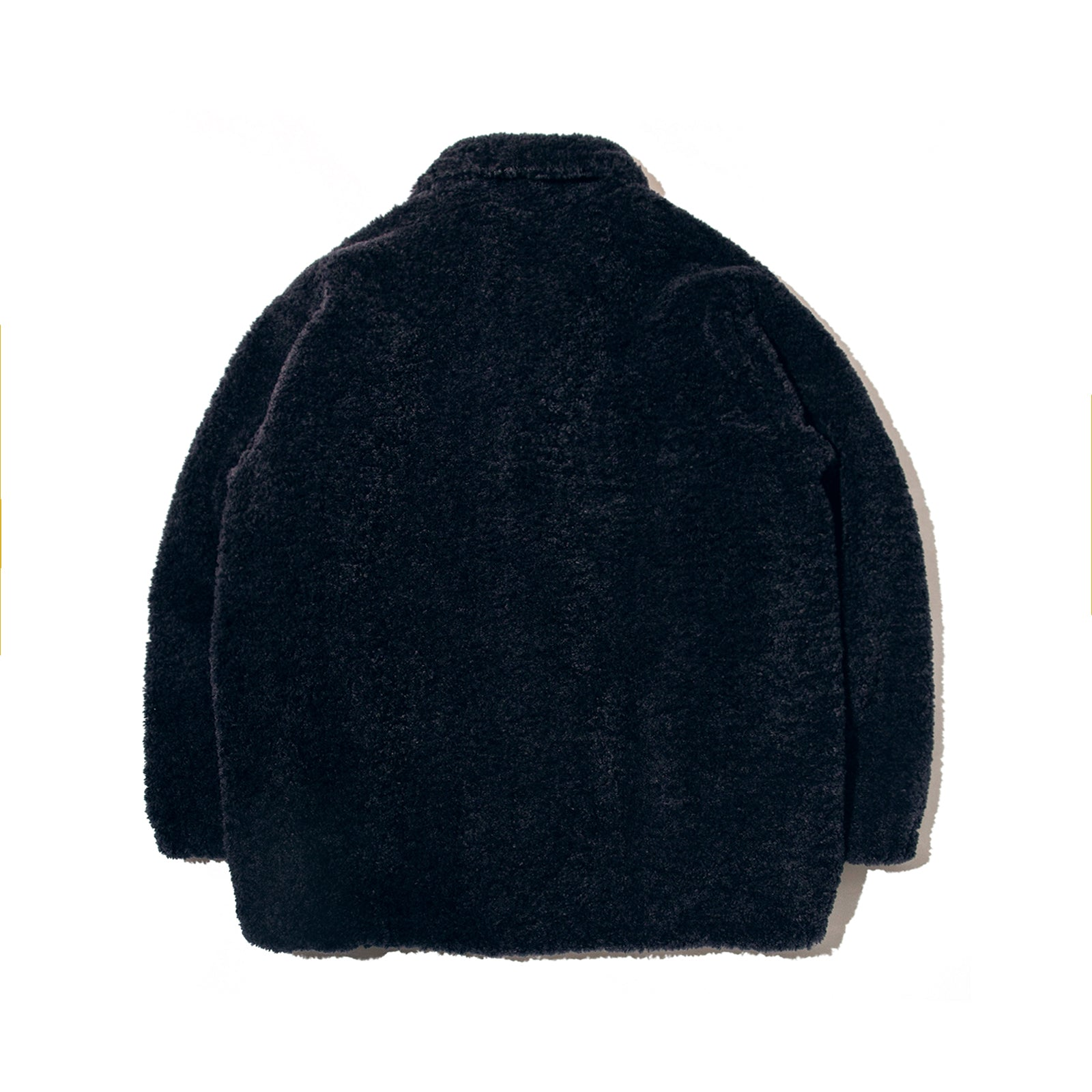 FUR COACH JACKET (NAVY)