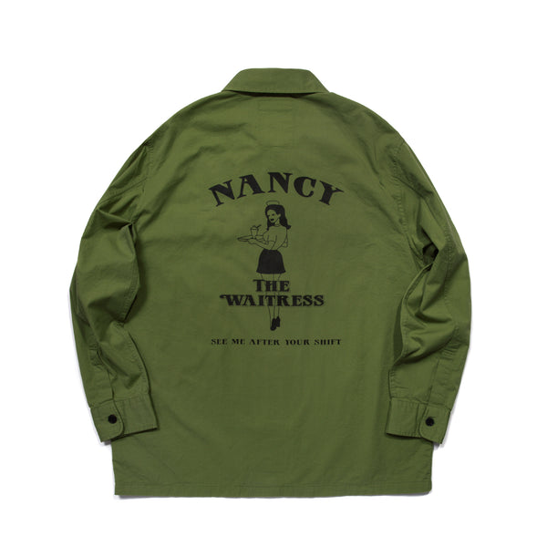 NANCY SHIRT JACKET (KHAKI)
