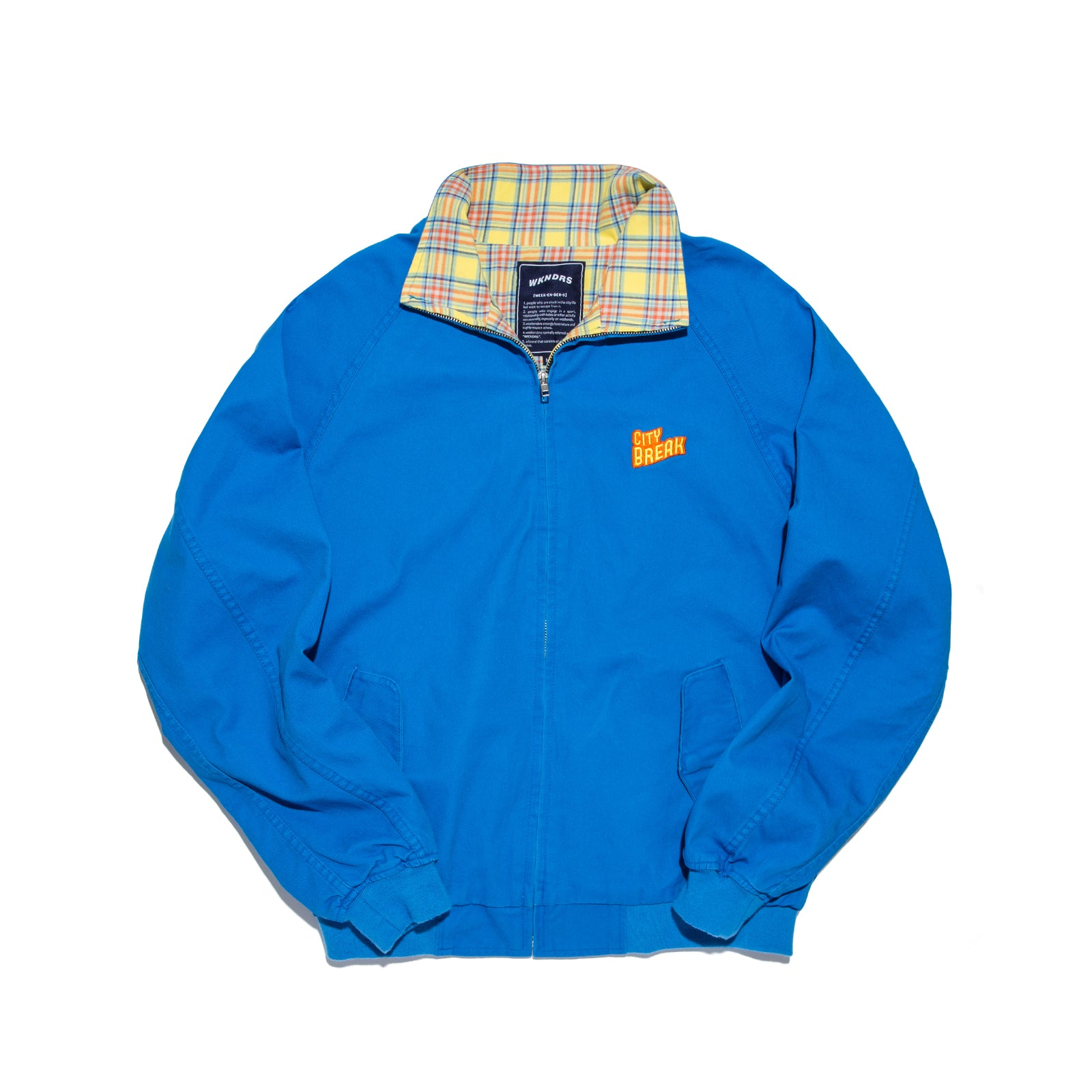 CITY BREAK BLOUSON (BLUE)
